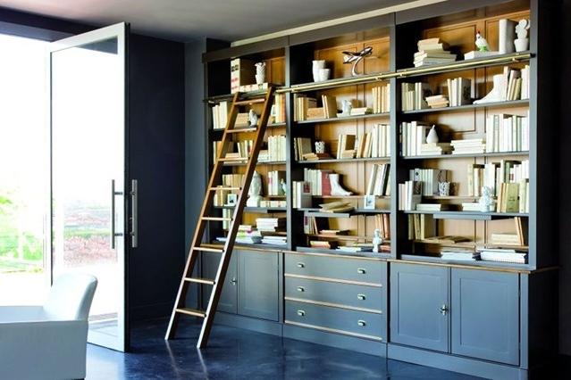 Painted Bookshelf Ideas Living Room Amp Study Design Ideas Intended For Favorite Painted Bookshelves (View 5 of 15)