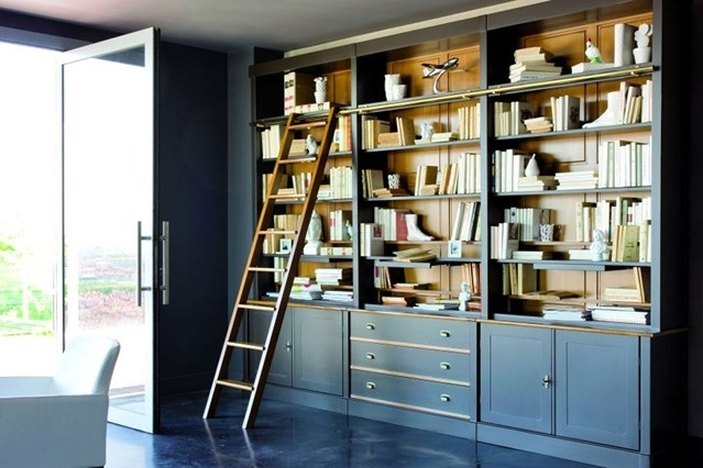 Painted Bookshelf Ideas Living Room Amp Study Design Ideas Pertaining To Preferred Study Bookshelves (View 6 of 15)
