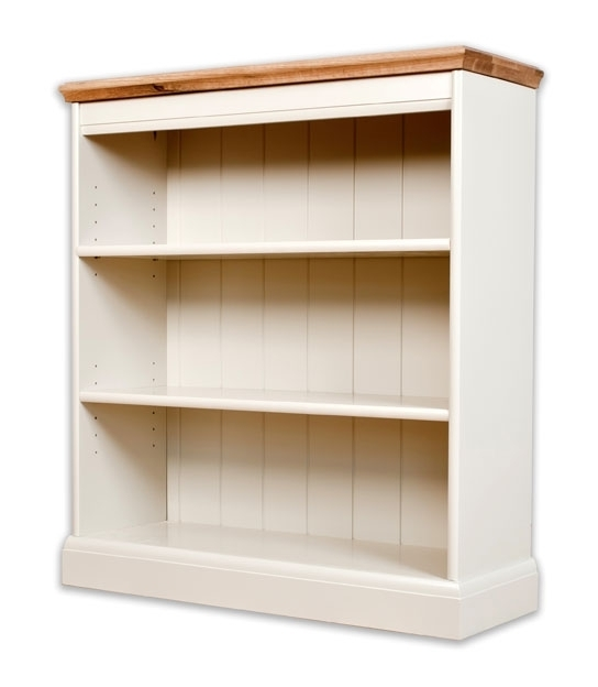 Featured Photo of Painted Oak Bookcases