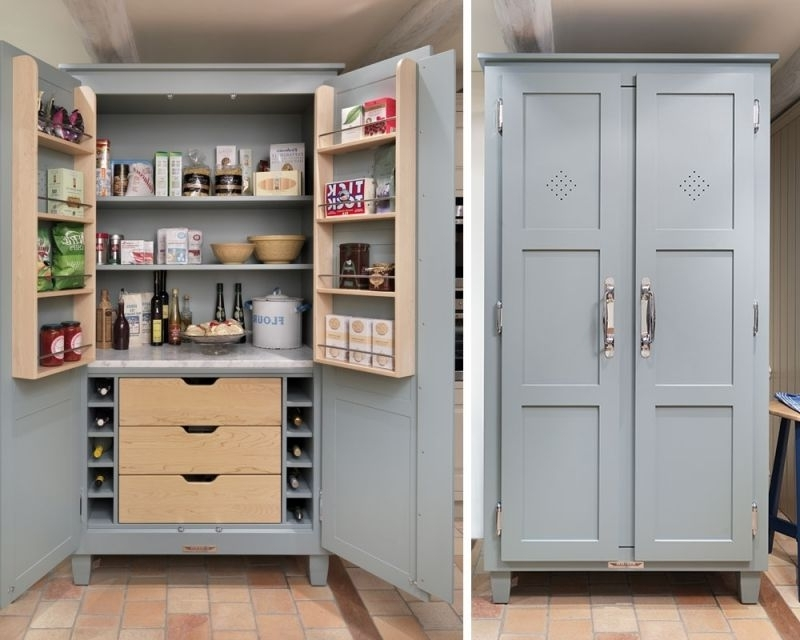 Pantry Cupboard, Kitchen Pantries And (View 14 of 15)
