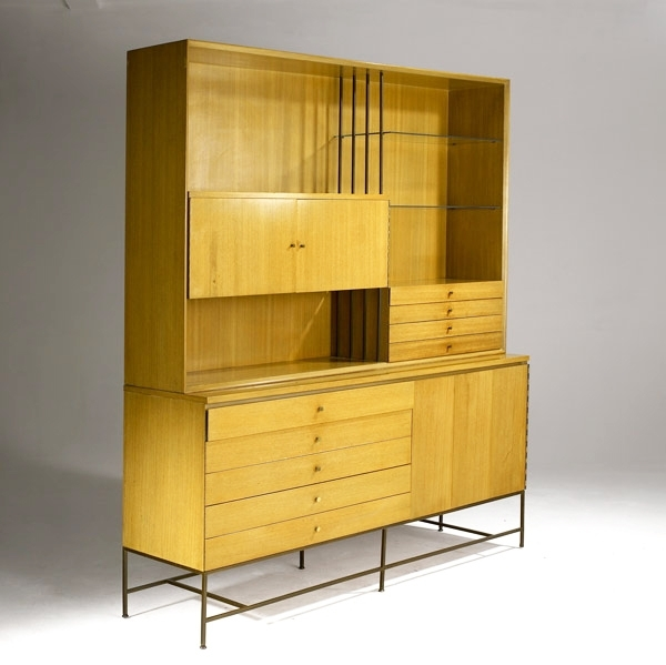 Paul Mccobb, Breakfront Cabinet For Calvin, 1950S (View 14 of 15)