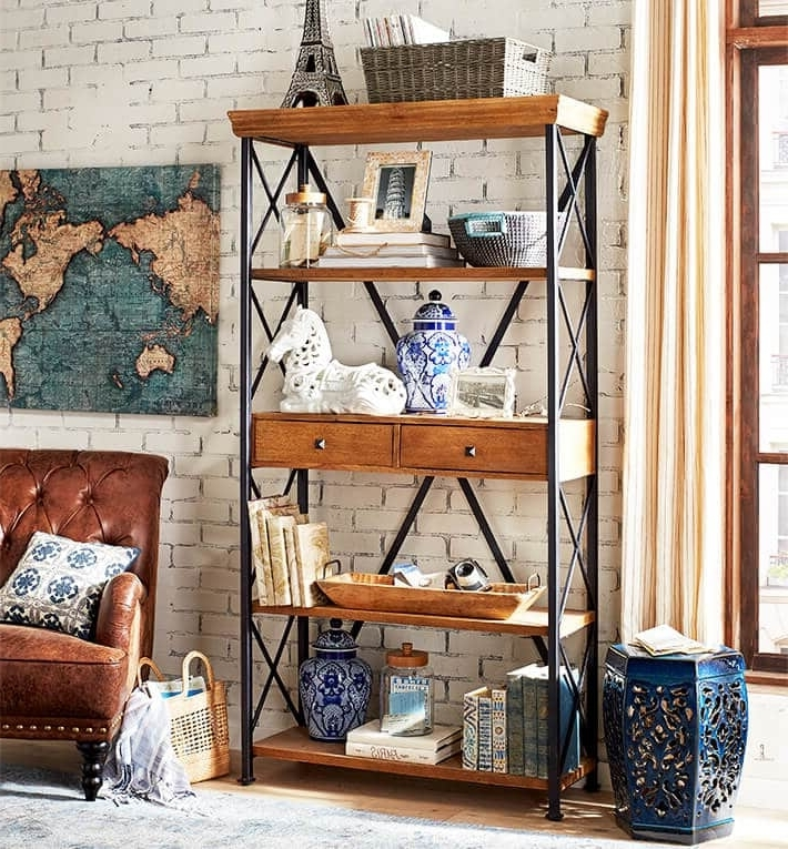 Pier One Bookcases With Regard To Well Known Decorate Your Bookshelf (View 11 of 15)
