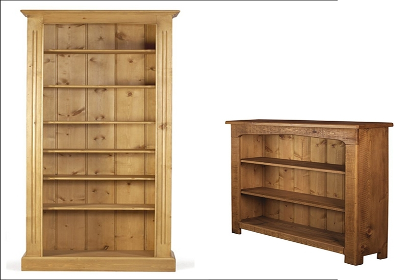 Pine Bookcase: A Small Library – Designinyou For Well Liked Pine Bookcases (View 9 of 15)