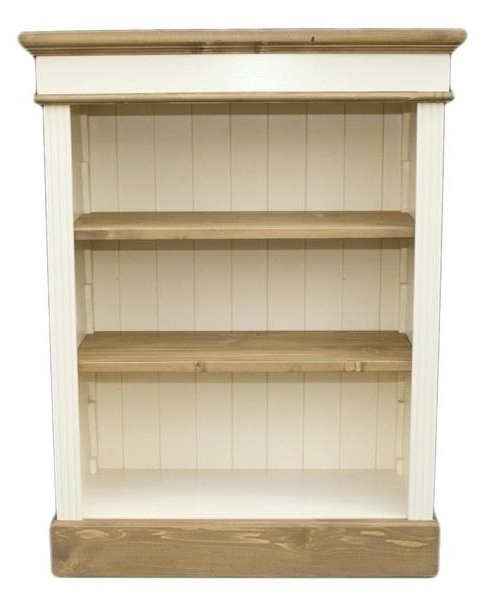 Pine Bookcase Pine Bookcases Furniture Large Wooden Bookcases Pertaining To Most Popular Painted Wood Bookcases (Gallery 11 of 15)
