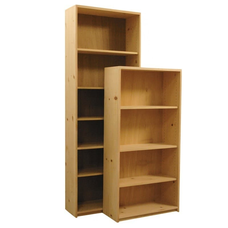 Pine Bookcases With Regard To Most Recent Basic Wood Bookcases (View 12 of 15)