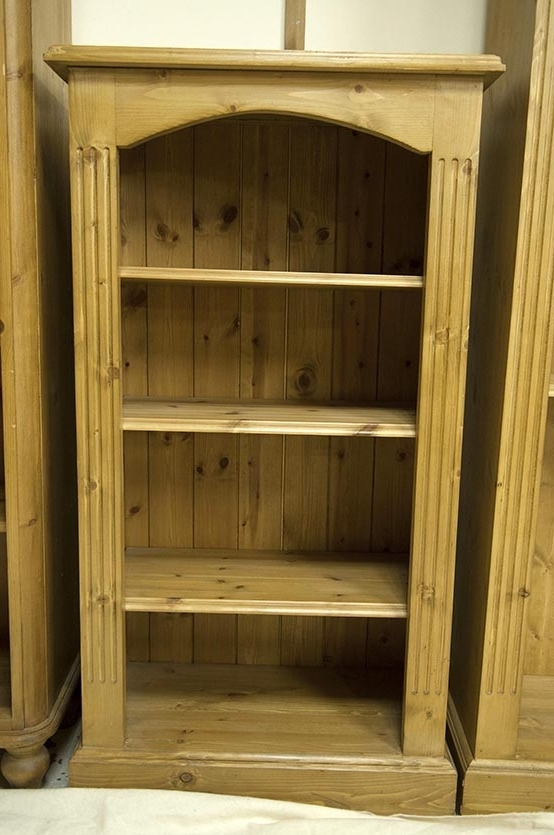 Pine Small Slim Bookcase – £ (View 14 of 15)