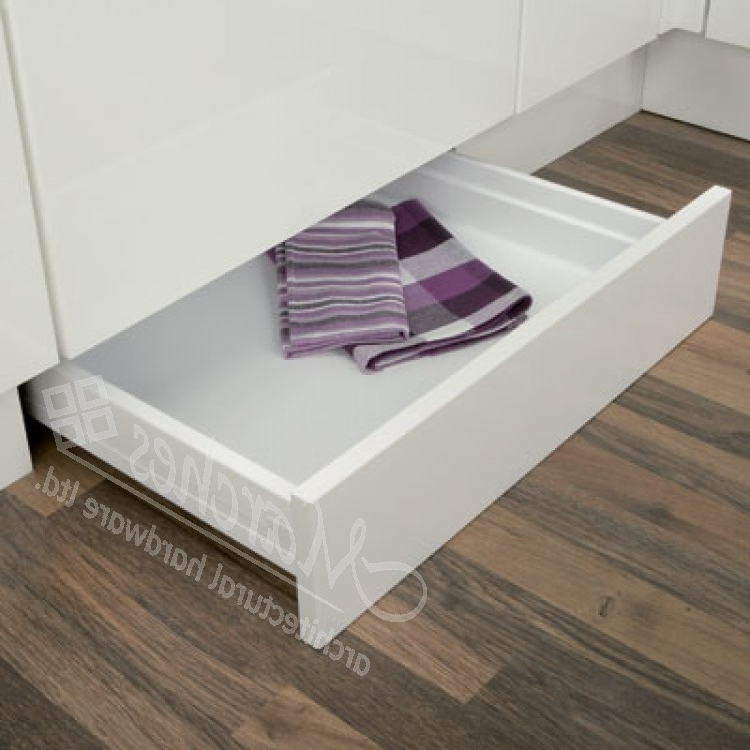 Plinth Drawer Fitting Set – Moulded Plastic Drawer System, Dynamic With Best And Newest Plinth Drawer (View 7 of 15)