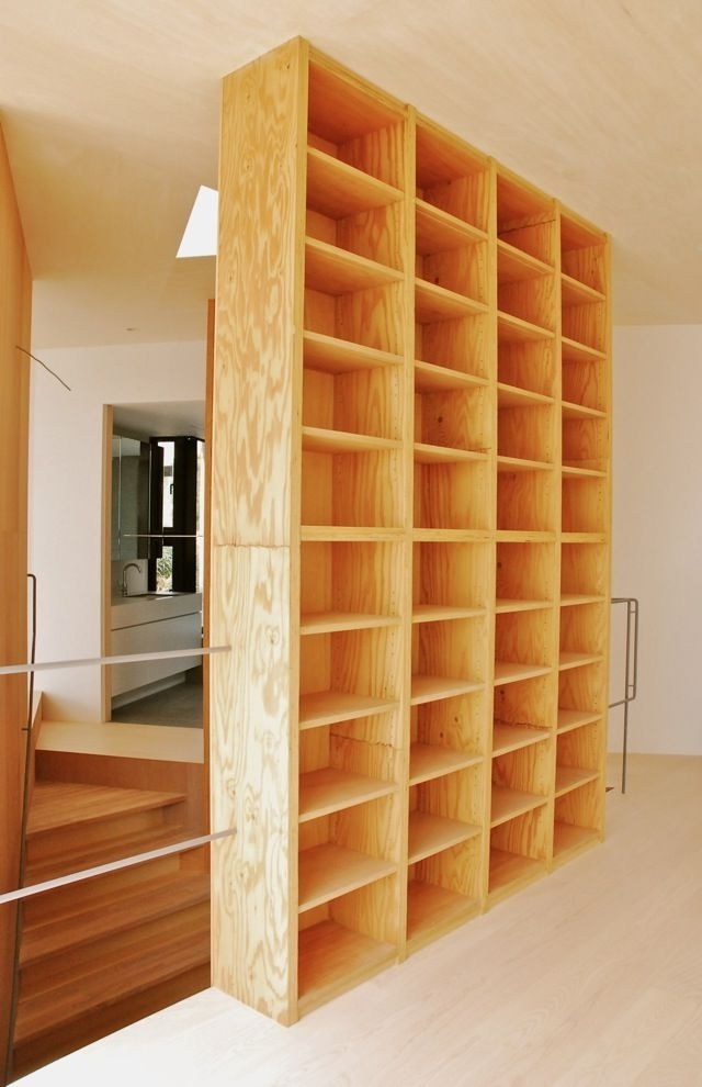 Plywood Bookcases Intended For Trendy Plywood Bookshelves 1000 Ideas About Bookcase On Pinterest  (View 12 of 15)