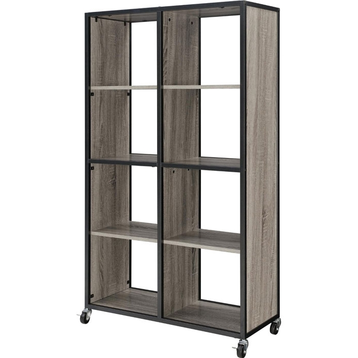 Popular 34 Freestanding Shelving Systems That Double As Room Dividers – Vurni Pertaining To Real Wood Bookcases (View 6 of 15)