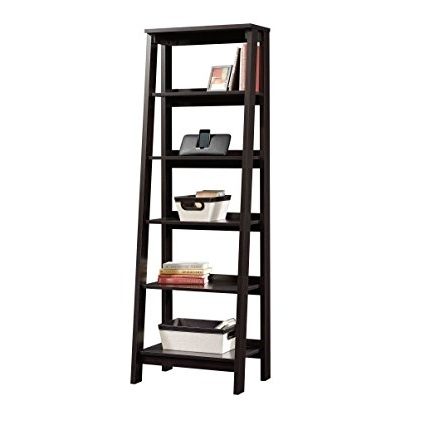 Popular Amazon: Sauder 5 Shelf Bookcase, Jamocha Wood: Kitchen & Dining In Sauder 5 Shelf Bookcases (View 5 of 15)