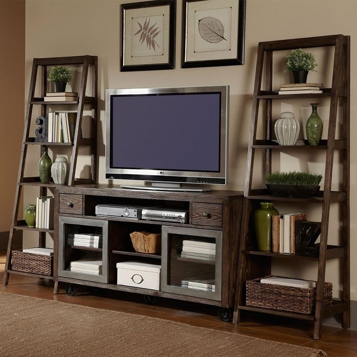 Popular Awesome Best 25 Tv Bookcase Ideas On Pinterest Built In Tv Wall Intended For Tv Unit With Bookcases (View 10 of 15)