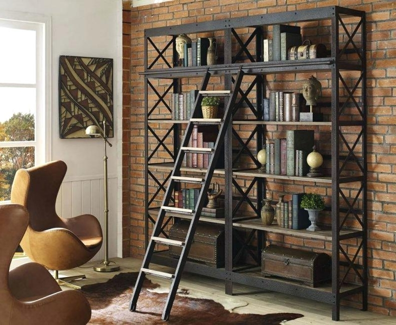 Popular Bookcase ~ Rustic Corner Bookcase Furniture Woodland Imports Within Classic Bookshelves (View 11 of 15)