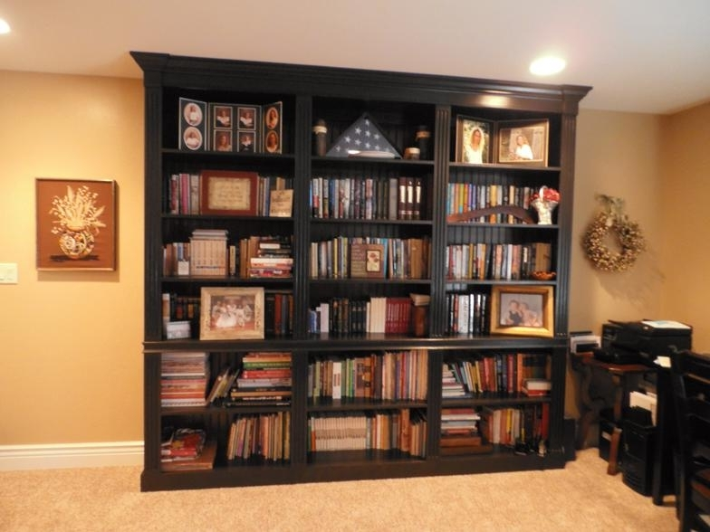 Popular Bookcases Library Wall Unit In Wall Units (View 4 of 15)