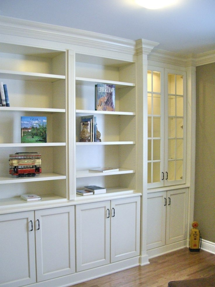 Popular Bookcases With Cupboard Under Inside 45 Best Wall Units Images On Pinterest (View 8 of 15)