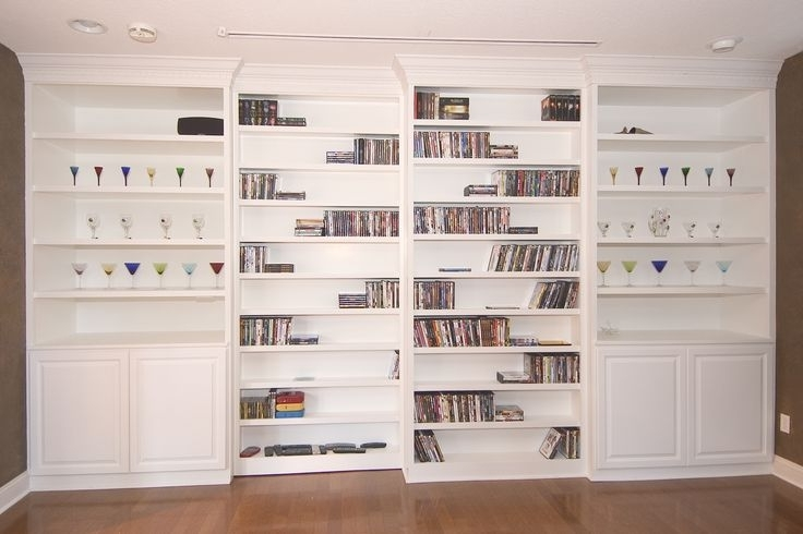 Popular Built In Bookshelves Kits Inside Wall Units (View 11 of 15)