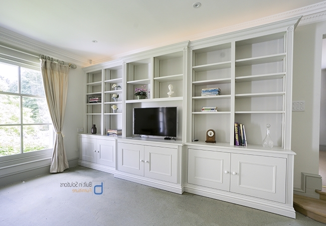 Popular Built In Cupboards Throughout Gorgeous Built In Cupboards In Your Living Room (View 7 of 15)