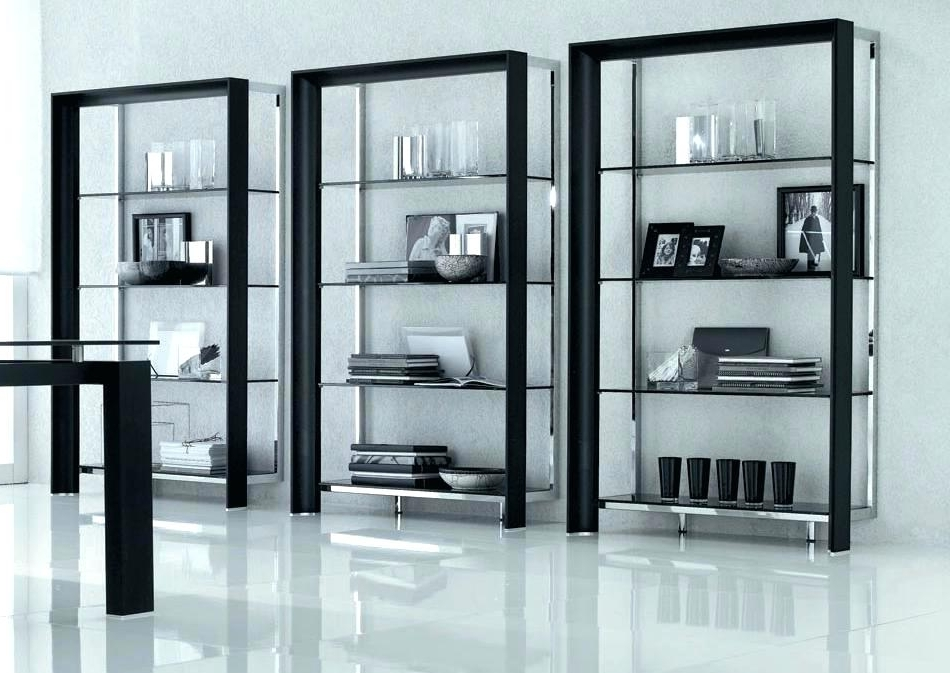 Popular Contemporary Bookcases With Regard To Contemporary Shelves Modern Style Wall Shelves Modern Designer (View 5 of 15)