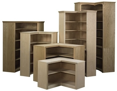 Popular Corner Bookcases Within Bookcases Ideas: Bookshelves Bookcases Corner Shelf And Ladder (View 11 of 15)