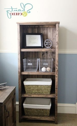 Popular Diy Bookcases Within 15 Free Bookcase Plans You Can Build Right Now (View 11 of 15)