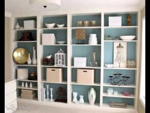 Popular Elegant Cool Diy Bookcase Ideas Youtube In Unique Designs Plans Intended For Colored Bookcases (View 13 of 15)