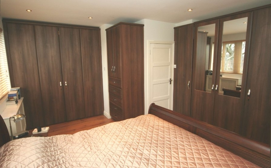 Popular Fitted Wooden Wardrobes Throughout Bedroomspaul James (View 10 of 15)