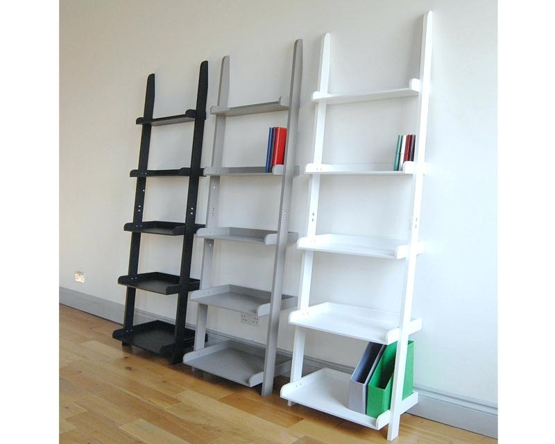 Popular Ladder Bookcases Inside Ladder Bookcases Ladder Shelf Step Ladder Bookcase Ikea – Studenty (View 15 of 15)