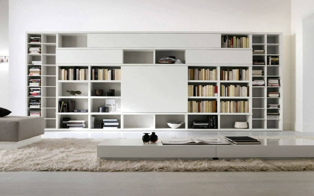 Attirant Popular Large Book Cabinet Modern Design Brings Big Space That Can Add The  Pertaining To Book