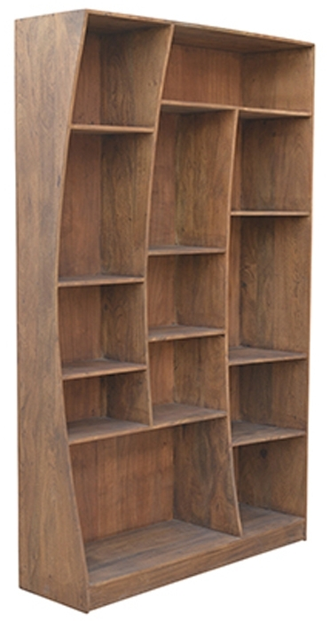 Popular Reclaimed Wood Bookcases Inside The Seven Drawers • Reclaimed Wood Bookcase (View 6 of 15)