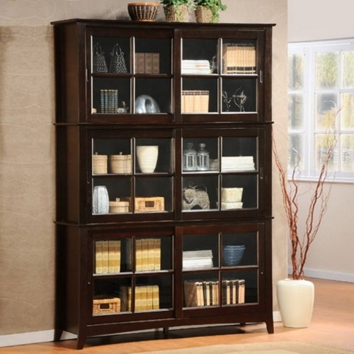 Popular Simple And Easy Guides To Help You Choosing Glass Door Bookcases With Door Bookcases (View 15 of 15)
