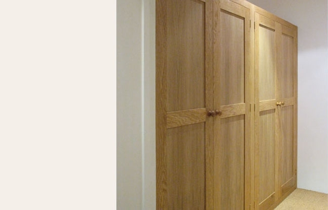 Popular Solid Wood Fitted Wardrobes Pertaining To N B Crossling – Fitted Bedroom Furniture Bristol (View 12 of 15)