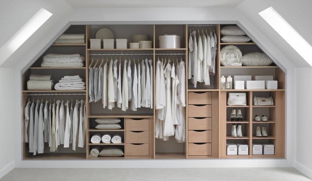 Popular Space Saving Wardrobes Pertaining To Exclusive Fitted Wardrobes Design Ideas With Unique Design Concept (View 5 of 15)