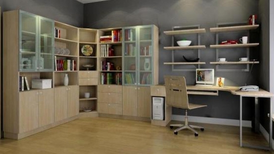 Popular Study Room Cupboard Design For Home Interior Design In Kuala Lumpur, Malaysia (View 15 of 15)