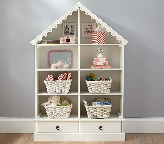 Pottery Barn Kids With Newest Dollhouse Bookcases (View 11 of 15)