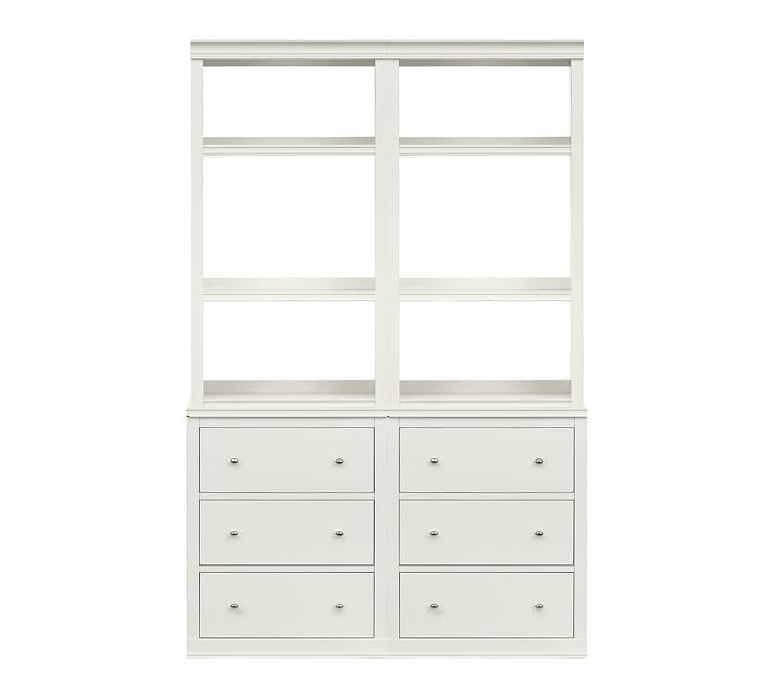 Pottery Barn Throughout Fashionable White Bookcases (View 6 of 15)