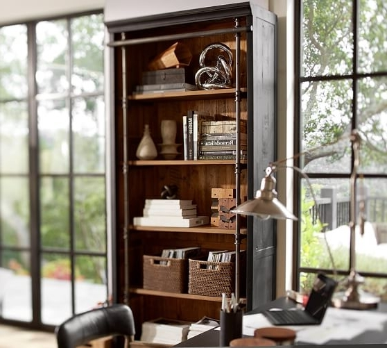 Featured Photo of Pottery Barn Bookcases