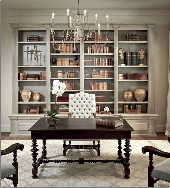 Preferred Classic Bookshelves Design Intended For Best 25+ Office Built Ins Ideas On Pinterest (View 5 of 15)