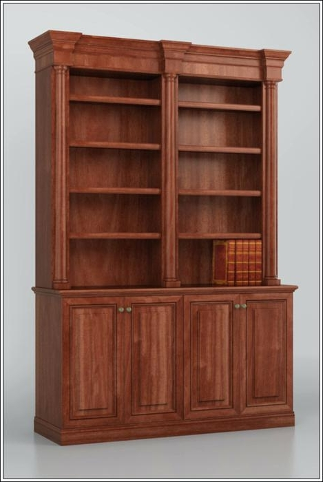 Preferred Custom Bookcase Plans – Studenty Inside Traditional Bookshelves Designs (View 10 of 15)
