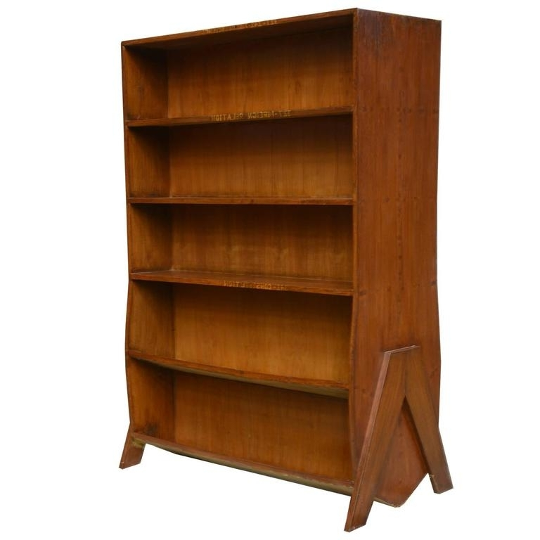 Preferred Double Sided Bookcases Inside Pierre Jeanneret Double Sided Bookcase For Sale At 1stdibs (View 5 of 15)