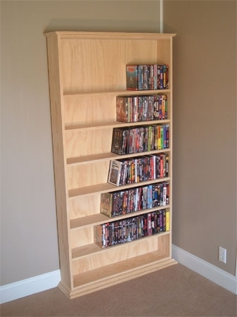 Preferred Dvd Bookcases With Regard To Build A Basic Case Of Shelves – Extreme How To (View 15 of 15)