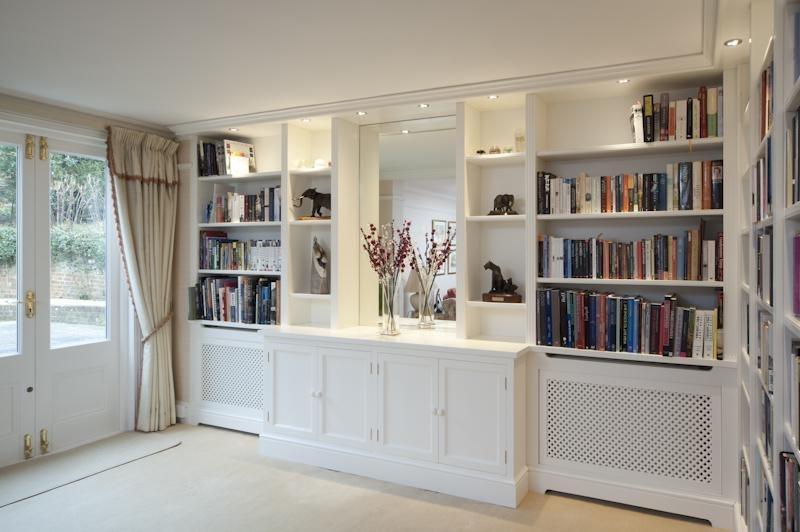 Preferred Gallery In Radiator Cover And Bookcases (View 10 of 15)