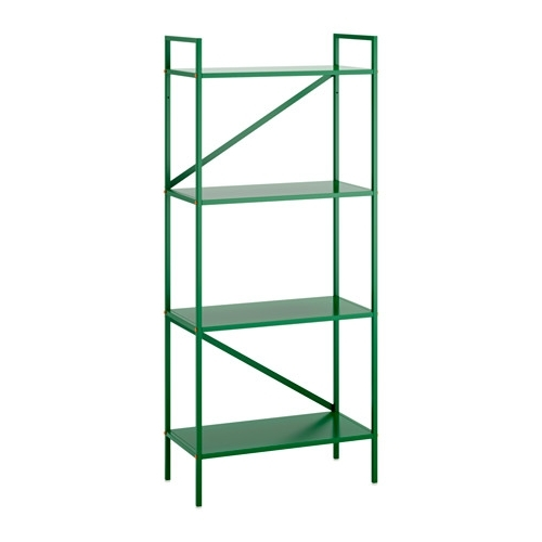 Preferred Ikea – Draget, Shelf Unit, Green, , The Design Makes The Bookcase With Cheap Shelving Units (View 14 of 15)