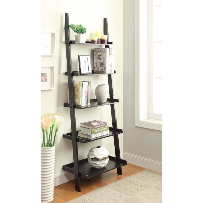 Preferred Leaning Ladder Shelf Bookcase Best Shelves Ideas On Pinterest Desk Throughout Leaning Bookcases (View 15 of 15)