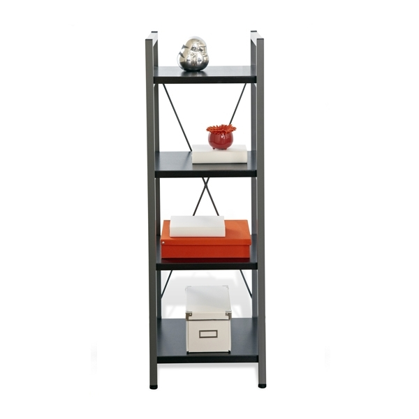 Preferred Narrow Bookcases For Tribeca Narrow Bookcase In Espresso Bookcases Black Wayfair (View 12 of 15)