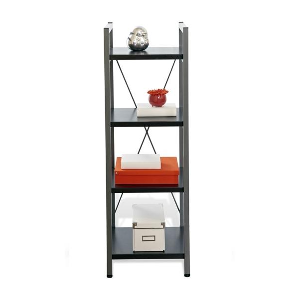 Preferred Narrow Bookcases For Tribeca Narrow Bookcase In Espresso Bookcases Black Wayfair (View 12 of 15)