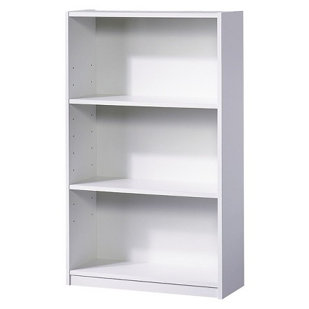 Preferred Target Bookcases With Regard To Bookcases Ideas: Carson 2 Shelf Bookcase White Threshold Target (View 6 of 15)
