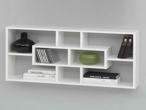 Preferred Wall Mounted Bookshelves – Wall Mounted Shelves At Home Depot Regarding Wall Mounted Bookcases (View 5 of 15)