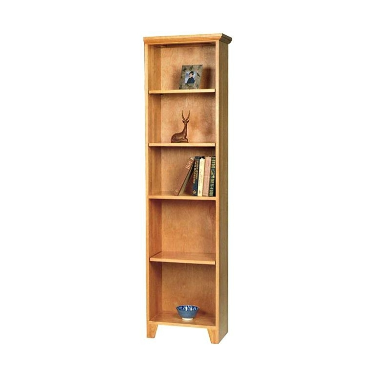 Quality Bookcase Bookcase Tall Narrow Shaker Bookcase High Quality In Favorite High Quality Bookcases (Gallery 6 of 15)