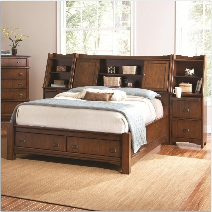 Queen Bed Bookcases Regarding Widely Used Bookcase Bed Queen (View 5 of 15)