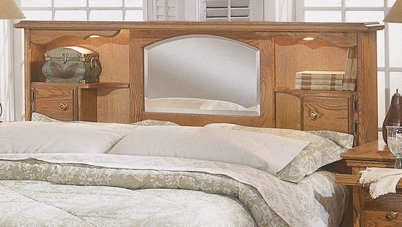 Queen Bookcases Headboard Throughout Most Current Bedroom Furniture (View 7 of 15)