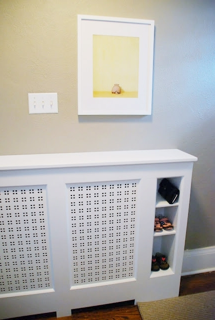 Radiator Cover Bookshelves For Latest 15 Diy Radiator Covers That You Can Easily Make – Shelterness (View 9 of 15)